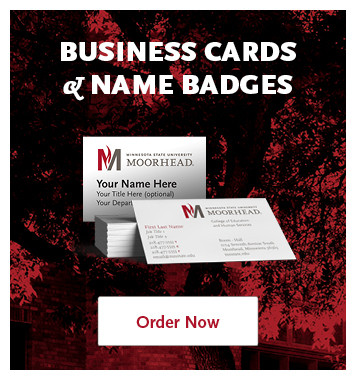 Business Cards and Name Badges