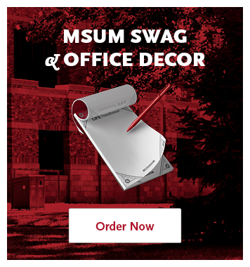 MSUM Swag and Office Decor